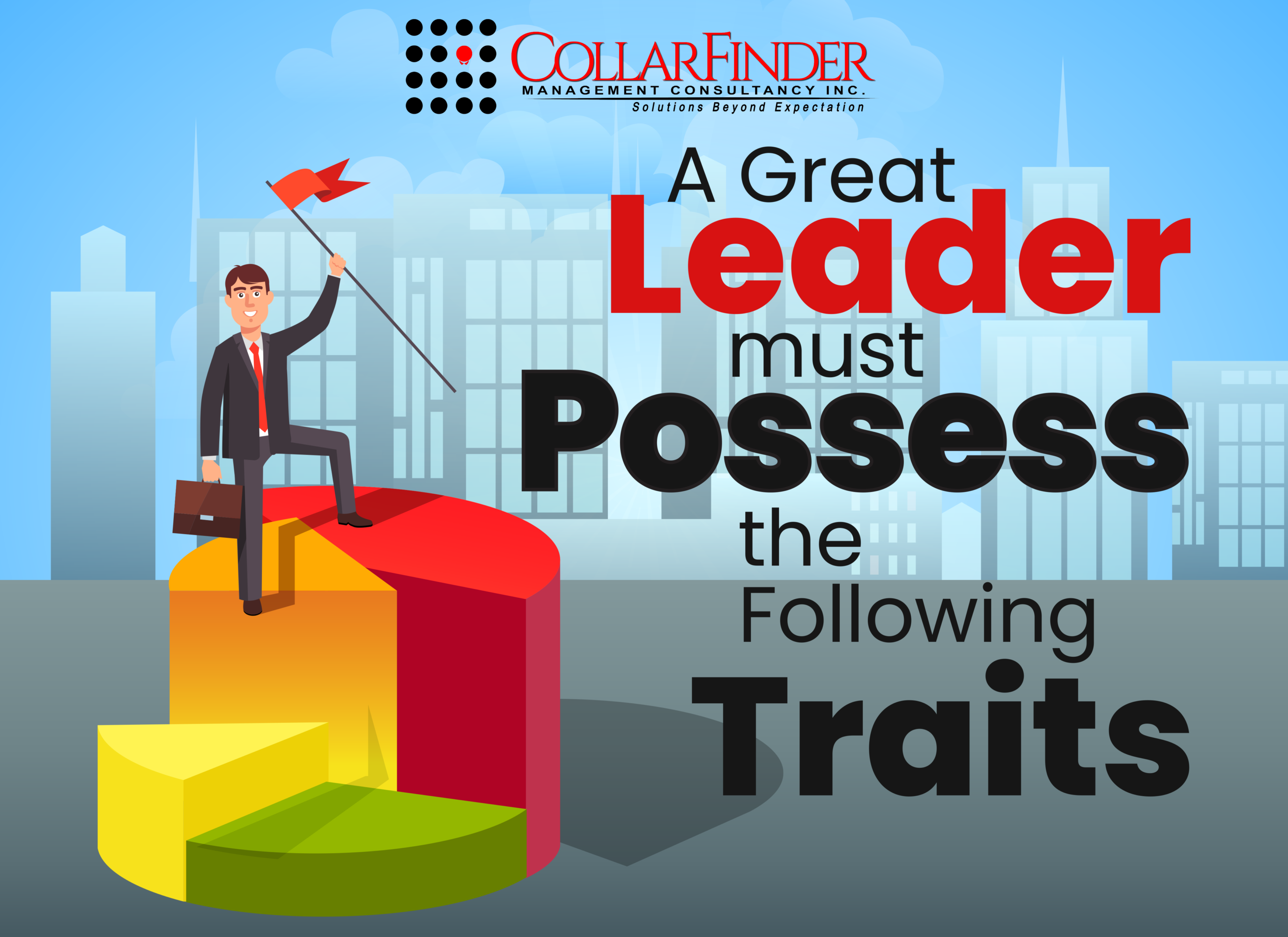 A Great Leader Must Possess the Following Traits