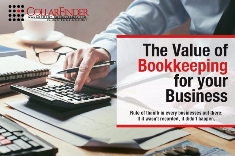The Value of Bookkeeping for Your Business