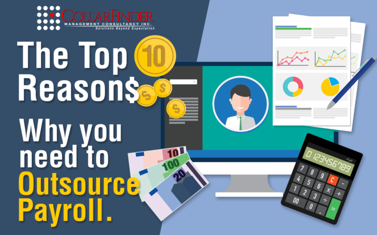 Top 10 Reasons Why You Need to Outsource Payroll